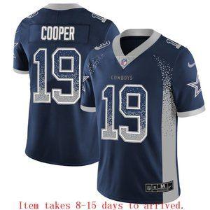 Cowboys #19 Amari Cooper Drift Jersey